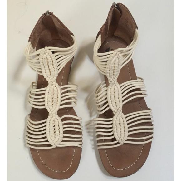 """a127a17d3b69 Sam Edelman Shoes - Sam Edelman Circus Becca Zip Sandals Sz 8.5"""""""